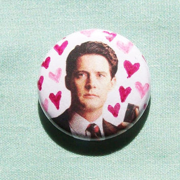 Special Agent Dale Cooper is Amazing- 1 Inch Button