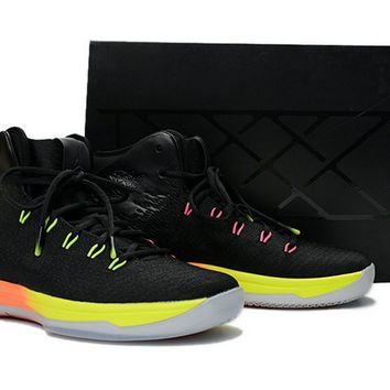 Official Nike Jordan 31 New Colorways Unlimited Black Pink Blast Total Orange Volt Brand sneaker