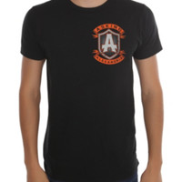 Asking Alexandria Shield Logo Slim-Fit T-Shirt