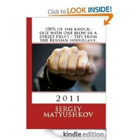 100% of the knock-out with one blow in a street fight - tips from the Russian gopnik.
