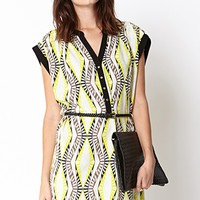 Standout Kaleidoscope Shirt Dress