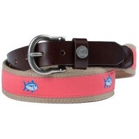 Classic Skipjack Canvas Belt in Coral by Southern Tide