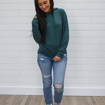 See You There Sweatshirt - Forest Green