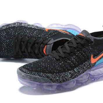 2018 Cheap Nike Lab Air Vapor Max x Cheap Womens Nike Vapormax FK 2.0 in Black Punch Cactus