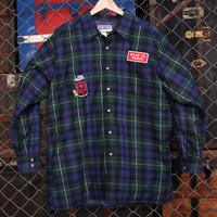 Beer Drinkers Quilted Flannel