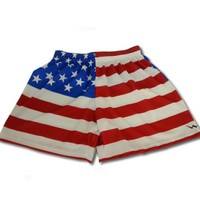 Ladies American Flag Shorts