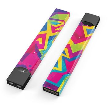 Skin Decal Kit for the Pax JUUL - Bright Retro Color-Shapes