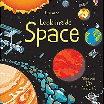 Space (Look Inside) - UK English Hardcover – 2012