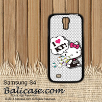 i love hello kitty iphone 4/4s/5/5c/5s case, i love hello kitty samsung galaxy s3/s4/s5, i love hello kitty samsung galaxy s3 mini/s4 mini, i love hello kitty samsung galaxy note 2/3