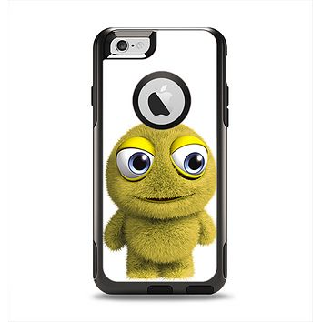 The Yellow Fuzzy Wuzzy Creature Apple iPhone 6 Otterbox Commuter Case Skin Set