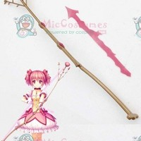 Puella Magi Madoka Magica Madoka Kaname Cosplay Flower Bow and Arrow For Sale