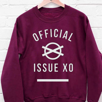 The Weeknd - Official Issue XO sweatshirt cozy sweater for mens and womens heppy fit or sizing.