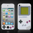 Retro Game Boy  Apple iPod Touch 4 4th Gen Vinyl Decal by ItsASkin