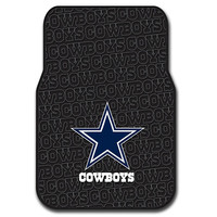 Dallas Cowboys NFL Car Front Floor Mats (2 Front) (17x25)