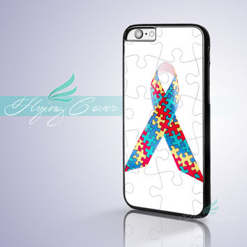 Coque Puzzle Autism Awareness Capa Phone Cases for iPhone 7 6S 6 5S SE 5C 5 4S 4 7 Plus Case for iPod Touch 6 iPod Touch 5 Cover