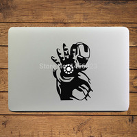 "Iron Man of Shooting Notebook Decal Laptop Sticker for 11"" 13"" 15"" Apple MacBook Air/Pro/Retina Mac Cover Skin Art Stickers"