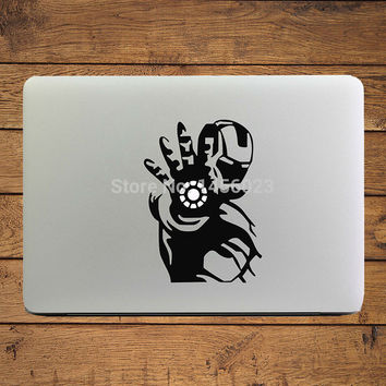 """Iron Man of Shooting Notebook Decal Laptop Sticker for 11"""" 13"""" 15"""" Apple MacBook Air/Pro/Retina Mac Cover Skin Art Stickers"""