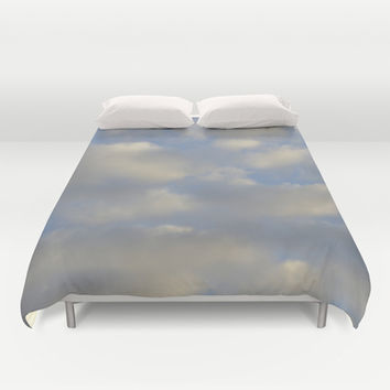 Cloudy Days Duvet Cover by Stacy Frett