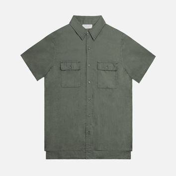 2 Layer Military Shirt / Olive