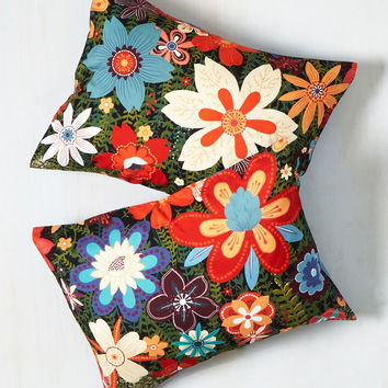 Treasure Grove Pillow Sham Set | Mod Retro Vintage Decor Accessories | ModCloth.com