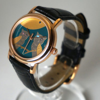 Echizen Makie watches -OWL- for Ladies (IP-0103)
