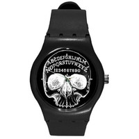 Ouija Skull Swatch like watch