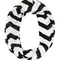 Chevron Infinity Scarf by Charlotte Russe
