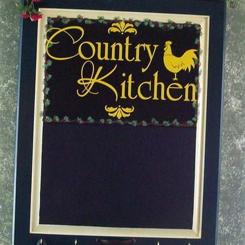 country kitchen chalkboard carboneschkboardshop on etsy on wanelo 2755