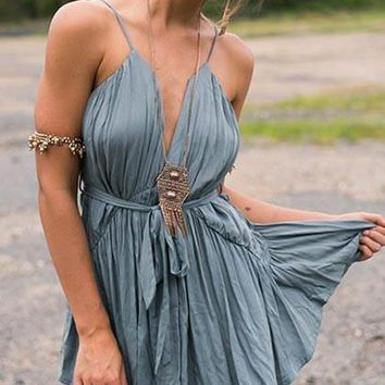 Streetstyle  Casual Bandeau High Rise Ruched Dress
