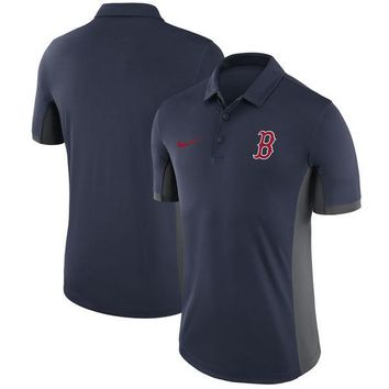 Boston Red Sox  Men's Nike Navy Franchise Polo Collared Shirt