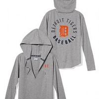 Detroit Tigers Oversized Pullover Hoodie - PINK - Victoria's Secret