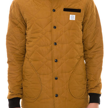 The Field Jacket in Gold & Black