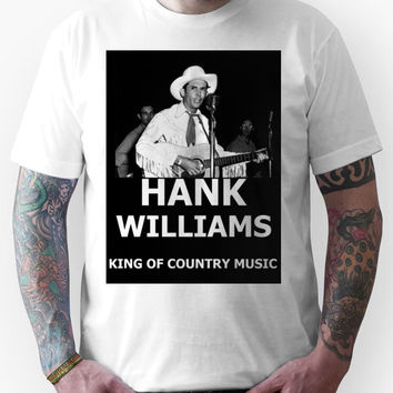 Hank Williams Sr. King Of Country Music Unisex T-Shirt