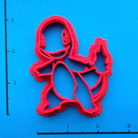 Pokemon Charmander Cookie Cutter by WarpZone on Etsy
