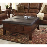 Signature Design by Ashley Living Room Ottoman Cocktail Table T845-21