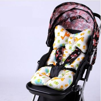 Thicken Shockproof Pram Padding Mat Baby Car Accessories Stroller Seat Cushion Cradle Sleeping Mat Baby Trolley Chair Cushion