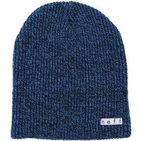 Neff Daily Heather Men's Beanie Fashion Hat - Black/Blue / One Size