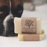 Dog Soap - Doggie Fresh All Natural Vegan Handcrafted Soap