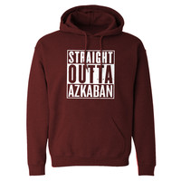 Straight Outta Azkaban Adult Hoodie Sweatshirt