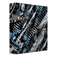 Abstract V-Twin Vinyl Binders