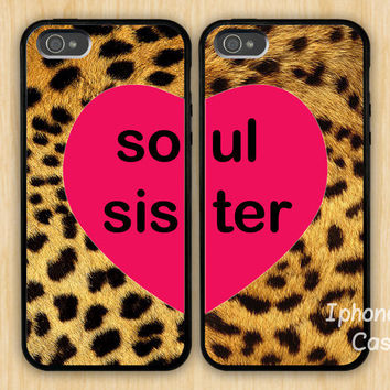 soul sister iPhone 5 Case Best friends iphone case by belindawen