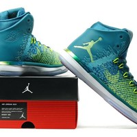 Nike Air Jordan 31 XXXI Retro Green Basketball Sneak Size US 8-13