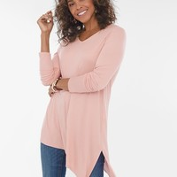 Chico's Asymmetrical-Hem Tunic