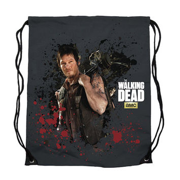 The Walking Dead Daryl Dixon Cinch Bag Backpack New Licensed