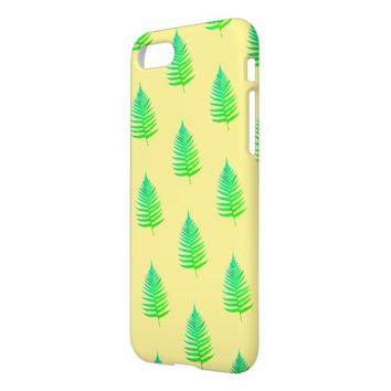 Funky Neon Green Fern Leaves Plant IPhone 8/7 Case