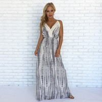 Summer Bliss Tie Dye Maxi Dress