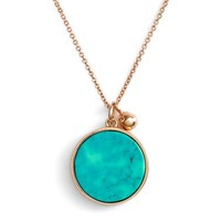 ginette ny 'Ever' Turquoise Pendant Necklace | Nordstrom