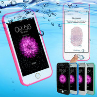 Shockproof Dustproof Underwater Diving Waterproof 360 Full Cover Phone Cases Cover For iPhone 7 7 Plus 5S 6 6S 6 Plus 4.7 5.5 inch+Nice Gift Box