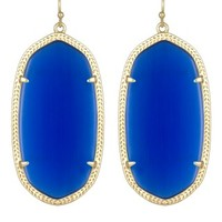 Danielle Earrings in Cobalt - Kendra Scott Jewelry