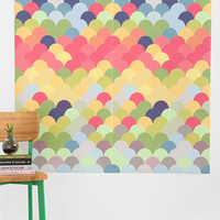 Scaled Tile Wall Decal - Urban Outfitters